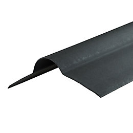 Black Bitumen Roof ridge capping 0.95m x 420mm