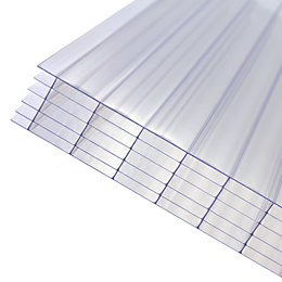 Clear Polycarbonate Multiwall sheet 5m x 1000mm