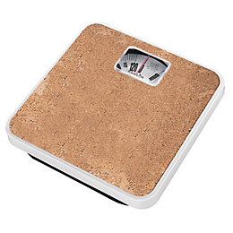 Hanson Brown Cork Platform Bathroom Scale