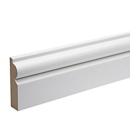Polymer Coated Torus Architrave (T)18mm (W)69mm (L)2180mm Pack,