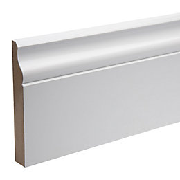 Ogee Skirting (T)18mm (W)119mm (L)2400mm Pack, Pack of