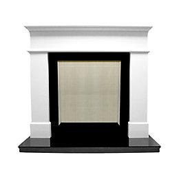 Warwick White Micro marble Fire surround