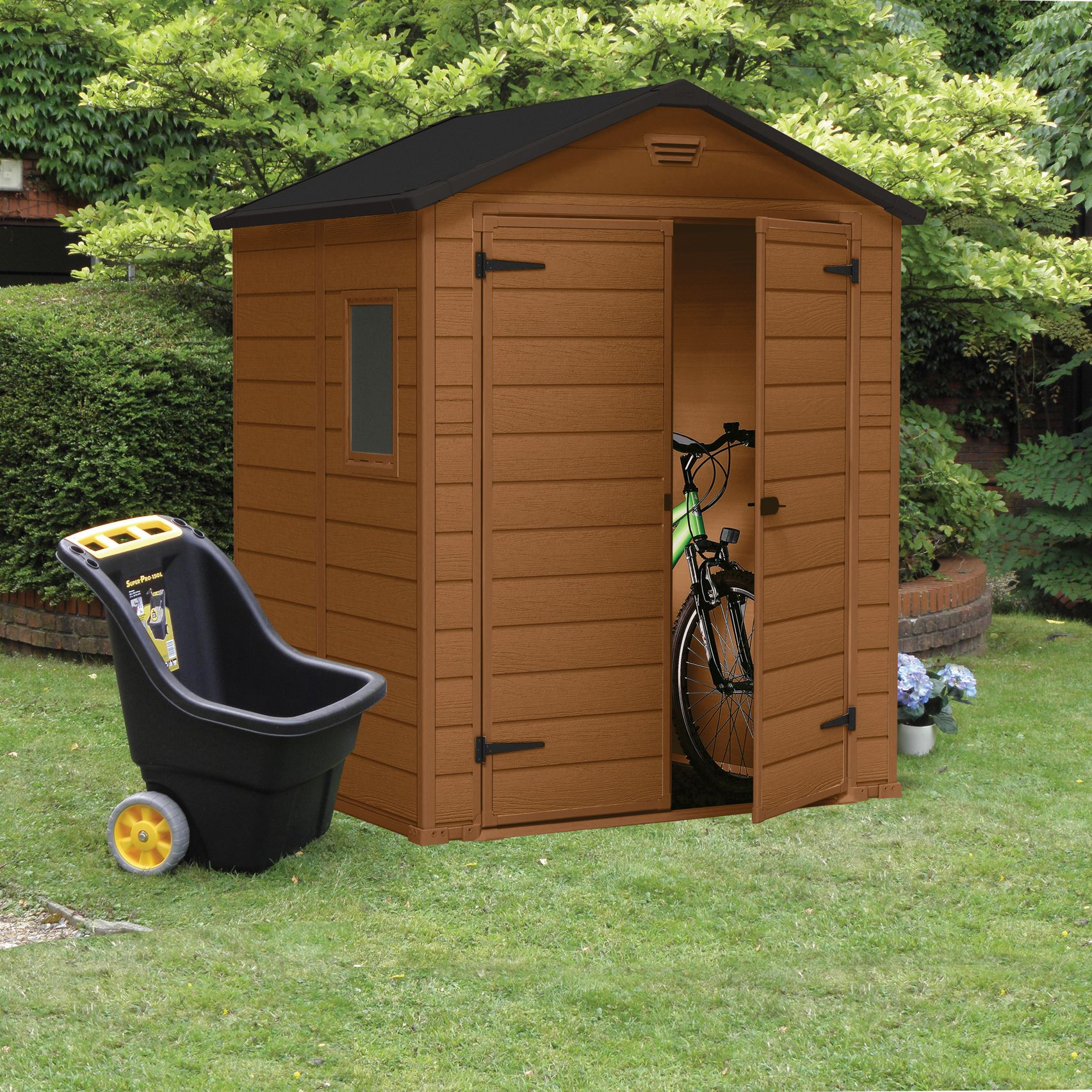 6x5 Apex Shiplap Plastic Shed Departments Tradepoint