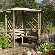 Blooma Softwood Corner Arbour
