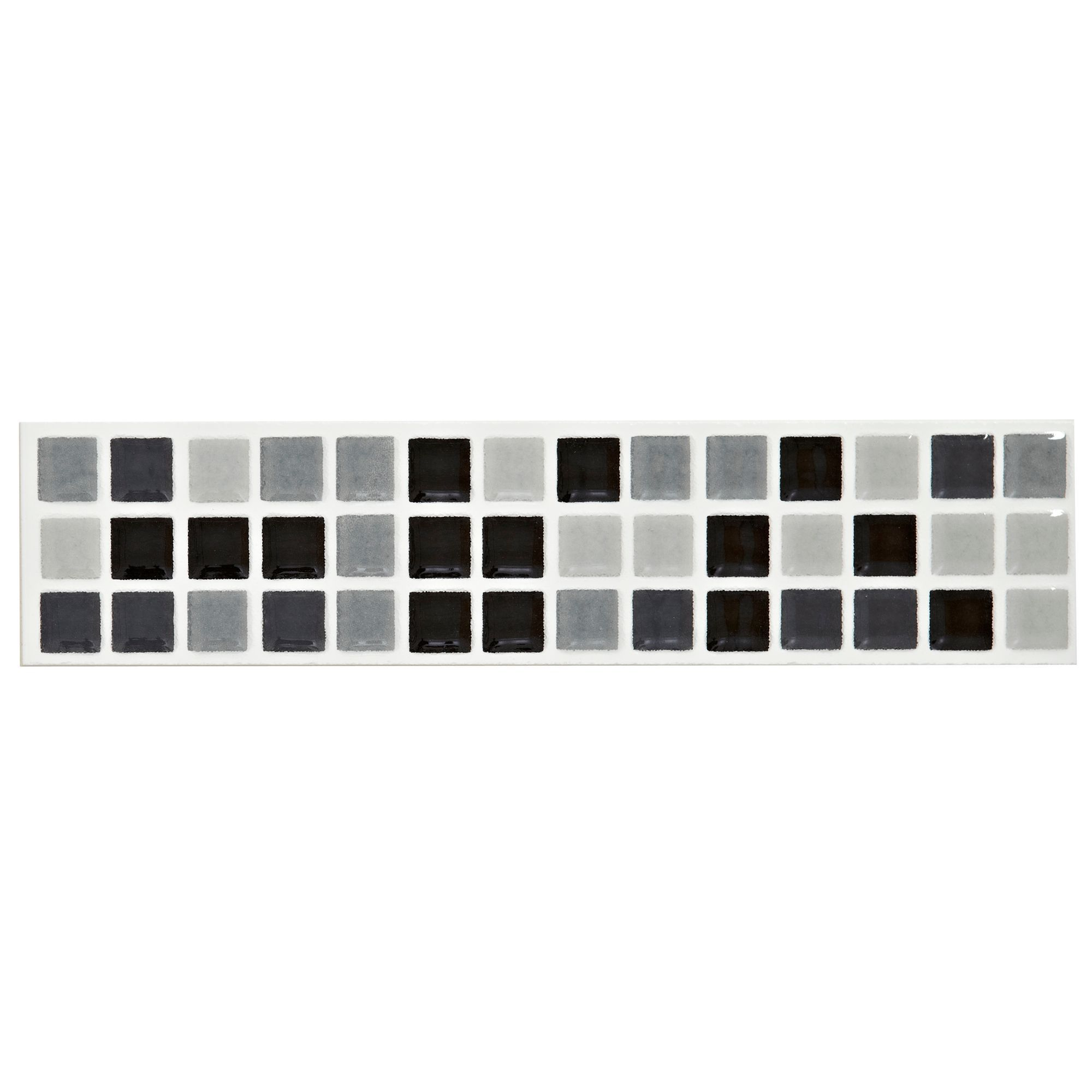 black and white border tiles for bathroom mini mosaic black amp white mosaic ceramic border tile l 25977