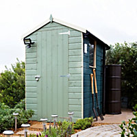 6x4 Sheds Apex roof Shiplap Wooden Shed