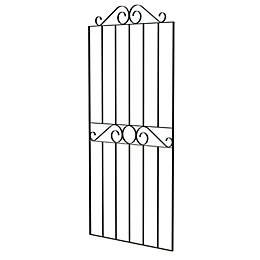 Blooma Steel Swirl Top Narrow Gate (H)1.8M (W)0.77