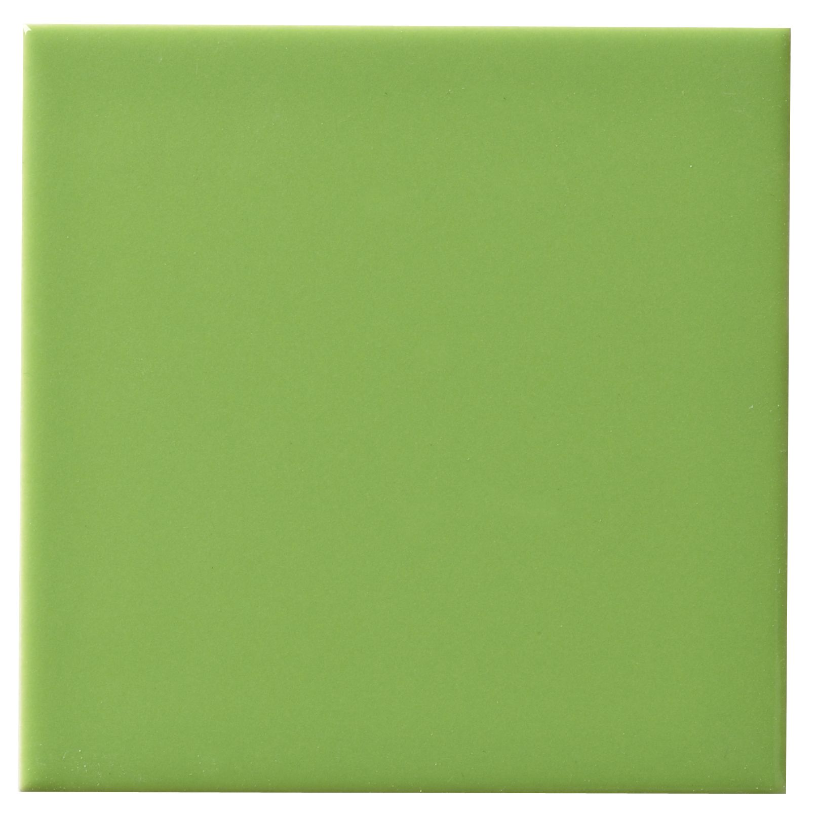 Utopia Lime Ceramic Wall Tile, Pack of 25, (L)100mm (W)100mm ...
