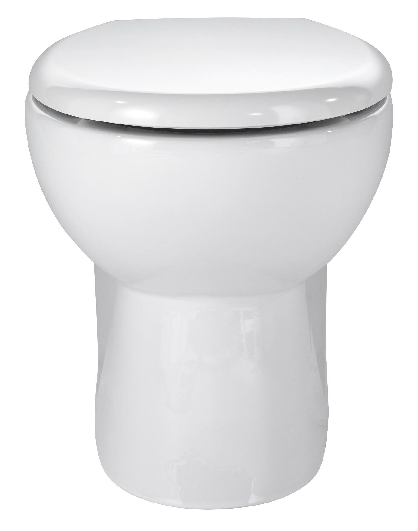 Cooke Lewis Tyler Back To Wall Toilet With Standard Close Seat