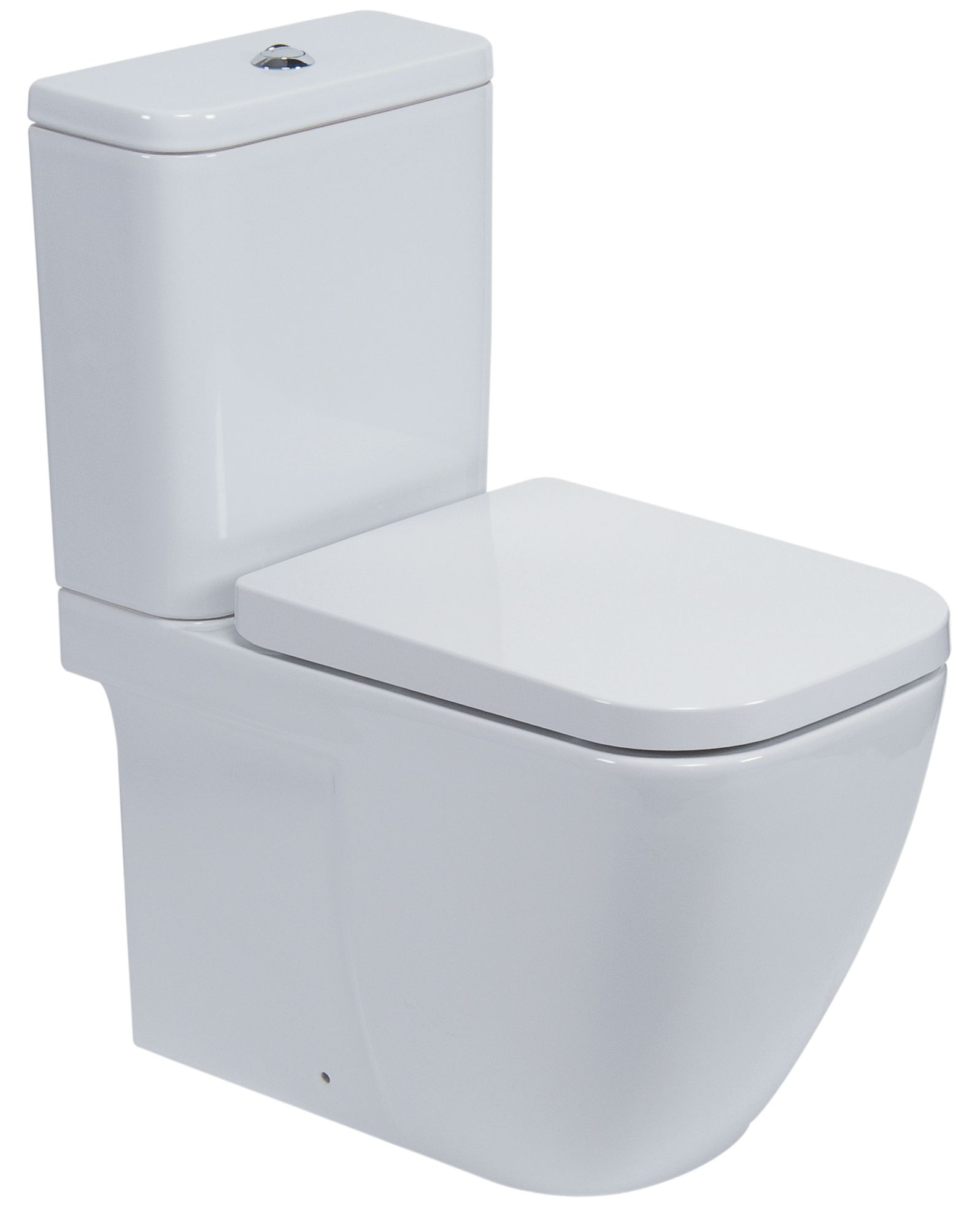 Strange Cooke Lewis Clancy Modern Close Coupled Toilet With Soft Close Seat Departments Diy At Bq Creativecarmelina Interior Chair Design Creativecarmelinacom