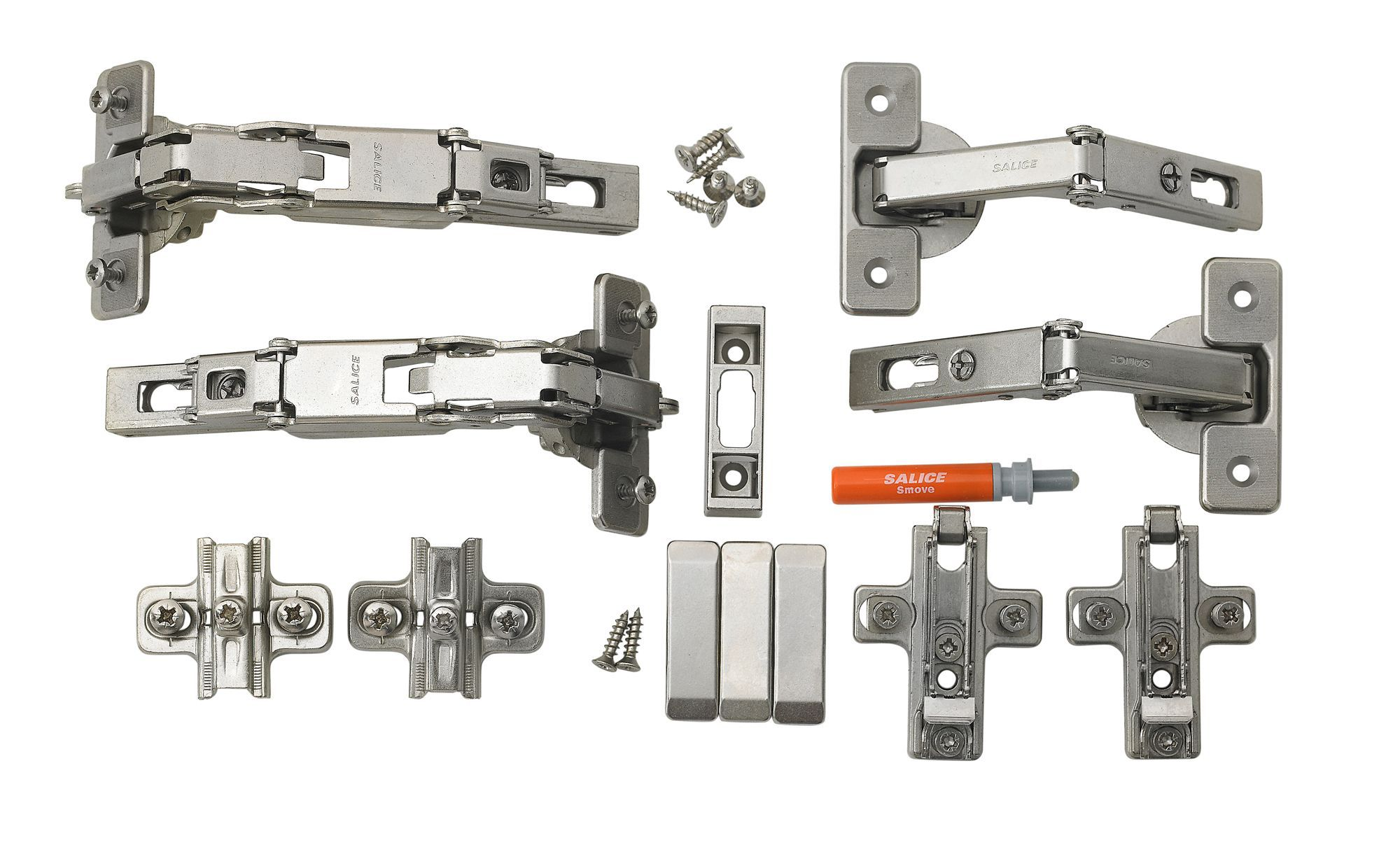 Cooke Lewis Soft Close 165 Concealed Cabinet Hinge Pack Of 2 Departments Diy At B Q