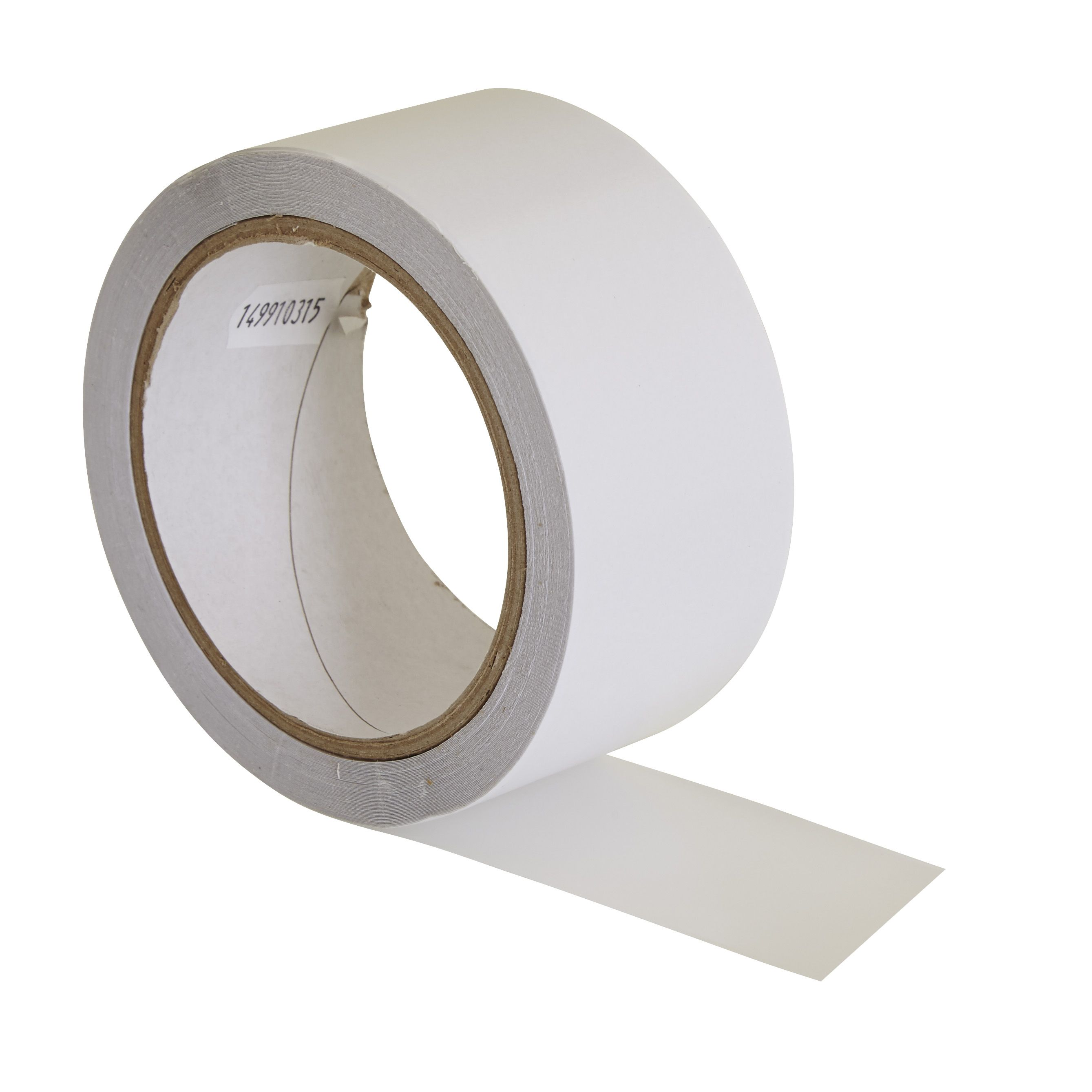 Diall White Double Sided Vinyl Flooring Tape L 15m W