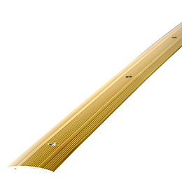 Diall Gold Effect Metal Edging 90 cm