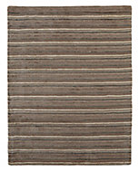 Colours Jasola Grey & taupe Striped Rug (L)1.5m (W)0.8 m