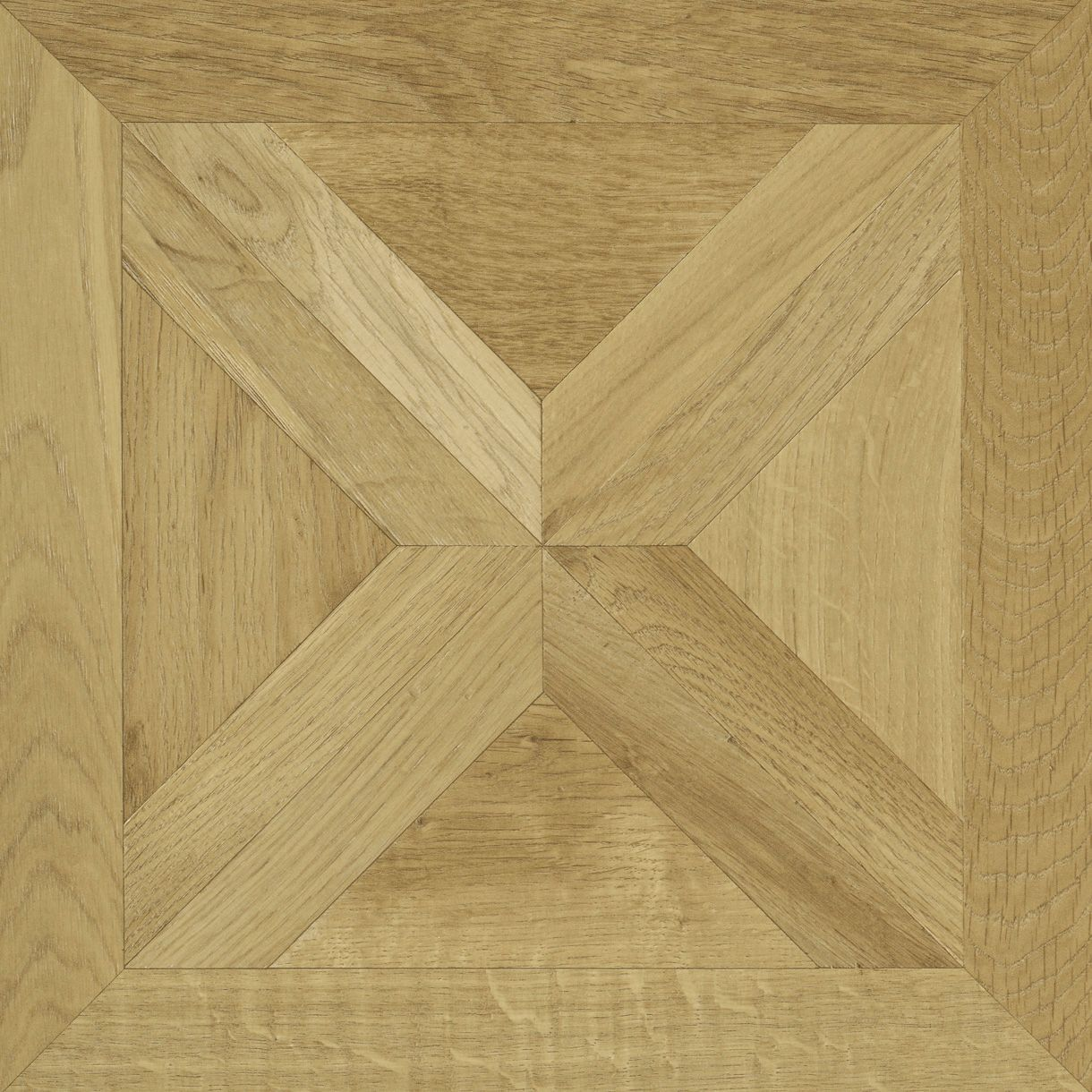 Staccato Natural Oak Parquet Effect Laminate Flooring 0