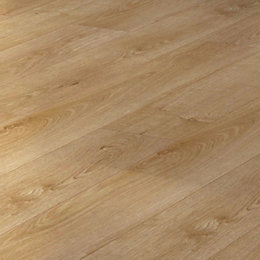 Overture Natural Milano Oak Effect Laminate Flooring 1.25