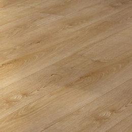 Overture Natural Milano Oak Effect Laminate Flooring 1.25