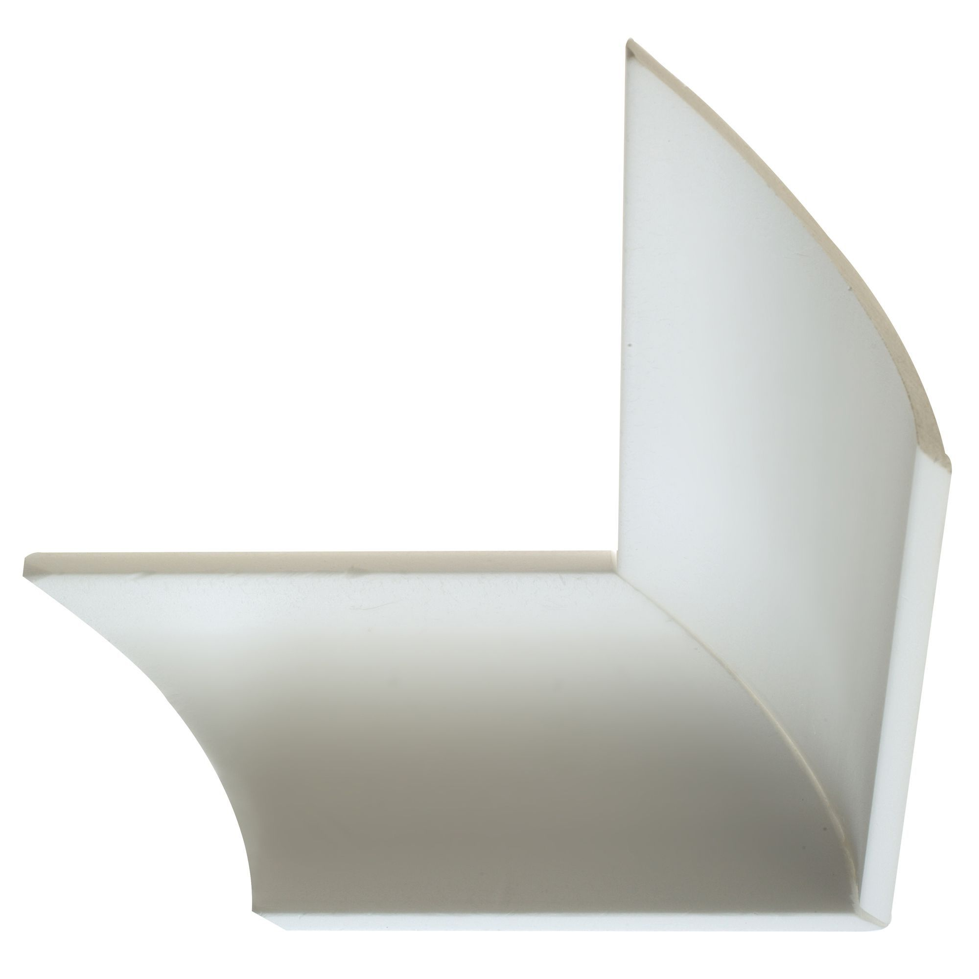 Value c profile coving l 180mm w 100mm t 20mm pack of for Coving corner template