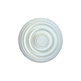 Colours Altamira White Ceiling Rose (Dia)400mm