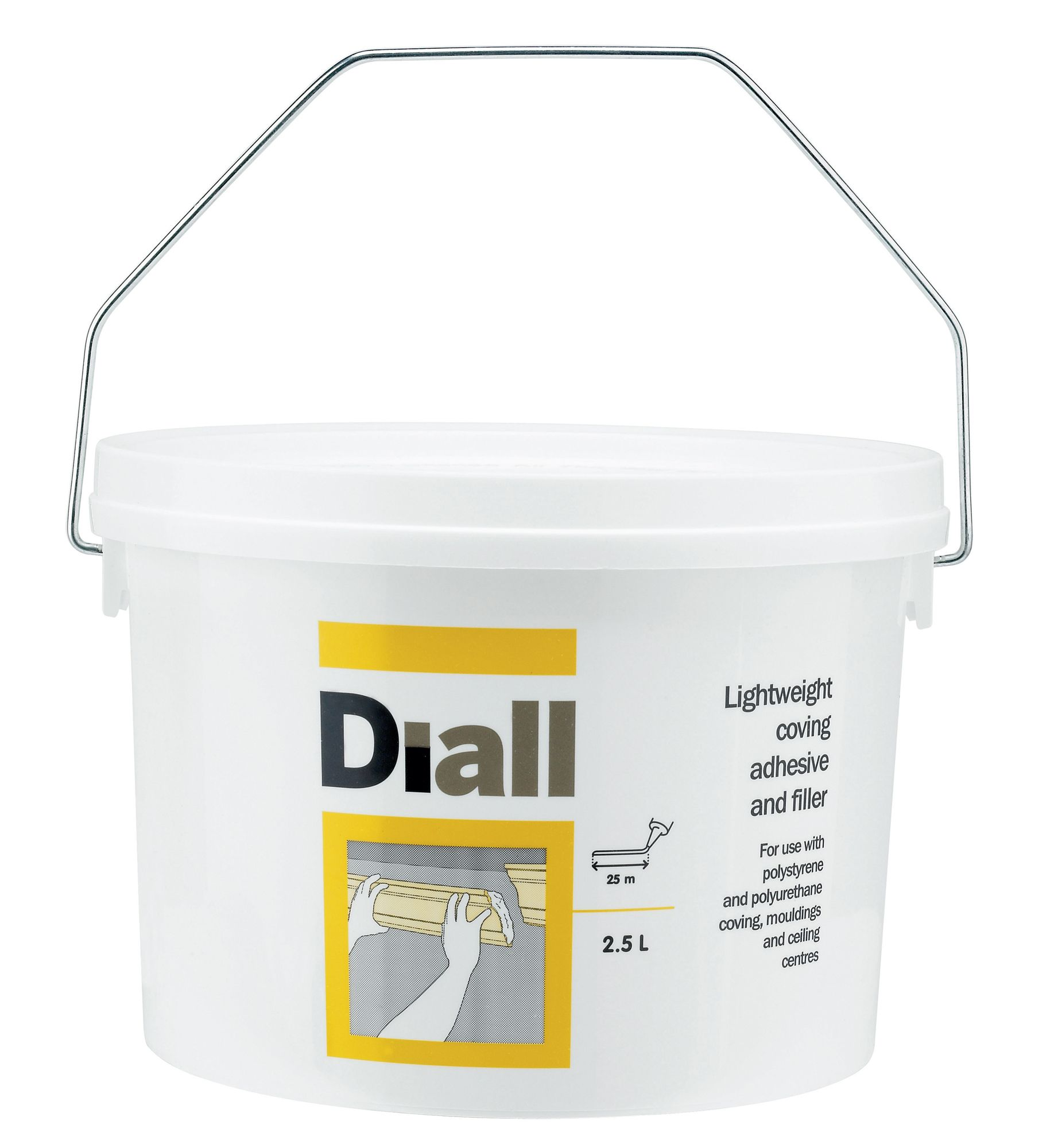 Diall Coving Adhesive Amp Filler 2500ml Departments