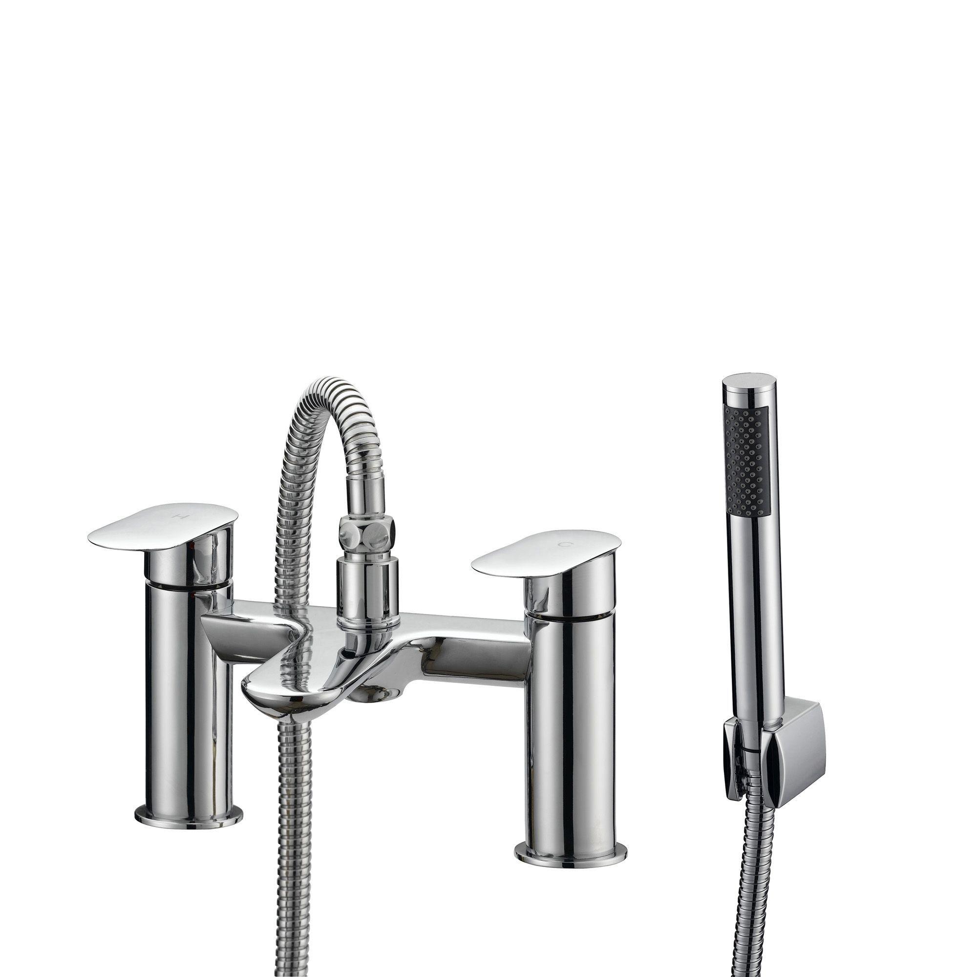 Cooke Amp Lewis Saru Chrome Bath Shower Mixer Tap