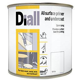 Diall White Primer & Undercoat 0.25L