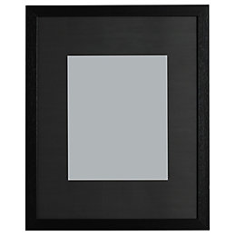 Black Single Frame Wood Picture Frame (H)52.7cm x