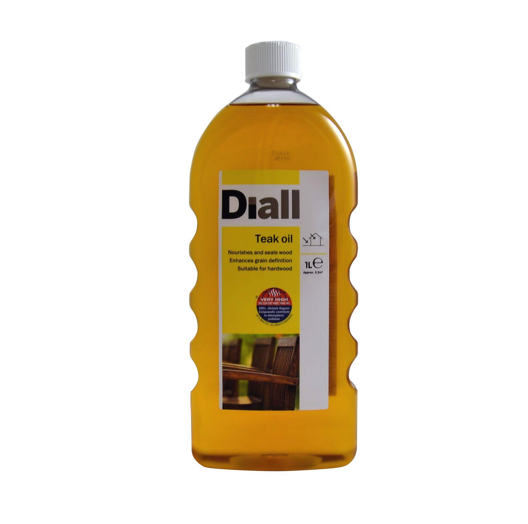 Diall Teak Oil 1l Departments Diy At B Amp Q