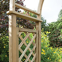 Blooma Softwood Round Top Arch