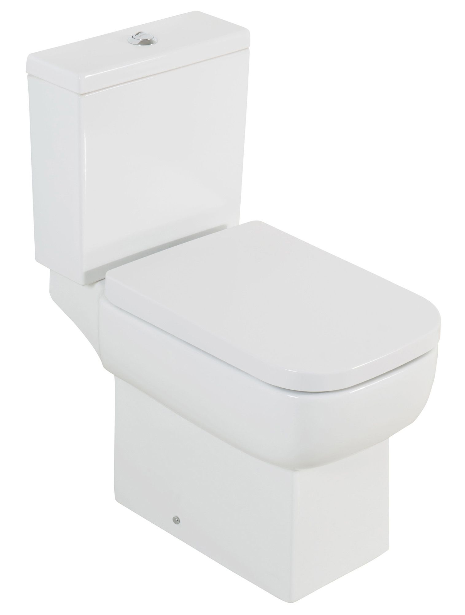 cooke lewis fabian close coupled toilet with soft close seat departments diy at b q. Black Bedroom Furniture Sets. Home Design Ideas