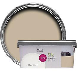 Colours Standard Warm Beige Silk Emulsion Paint 2.5L