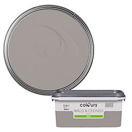 Colours Standard Black pepper Silk Emulsion paint 2.5
