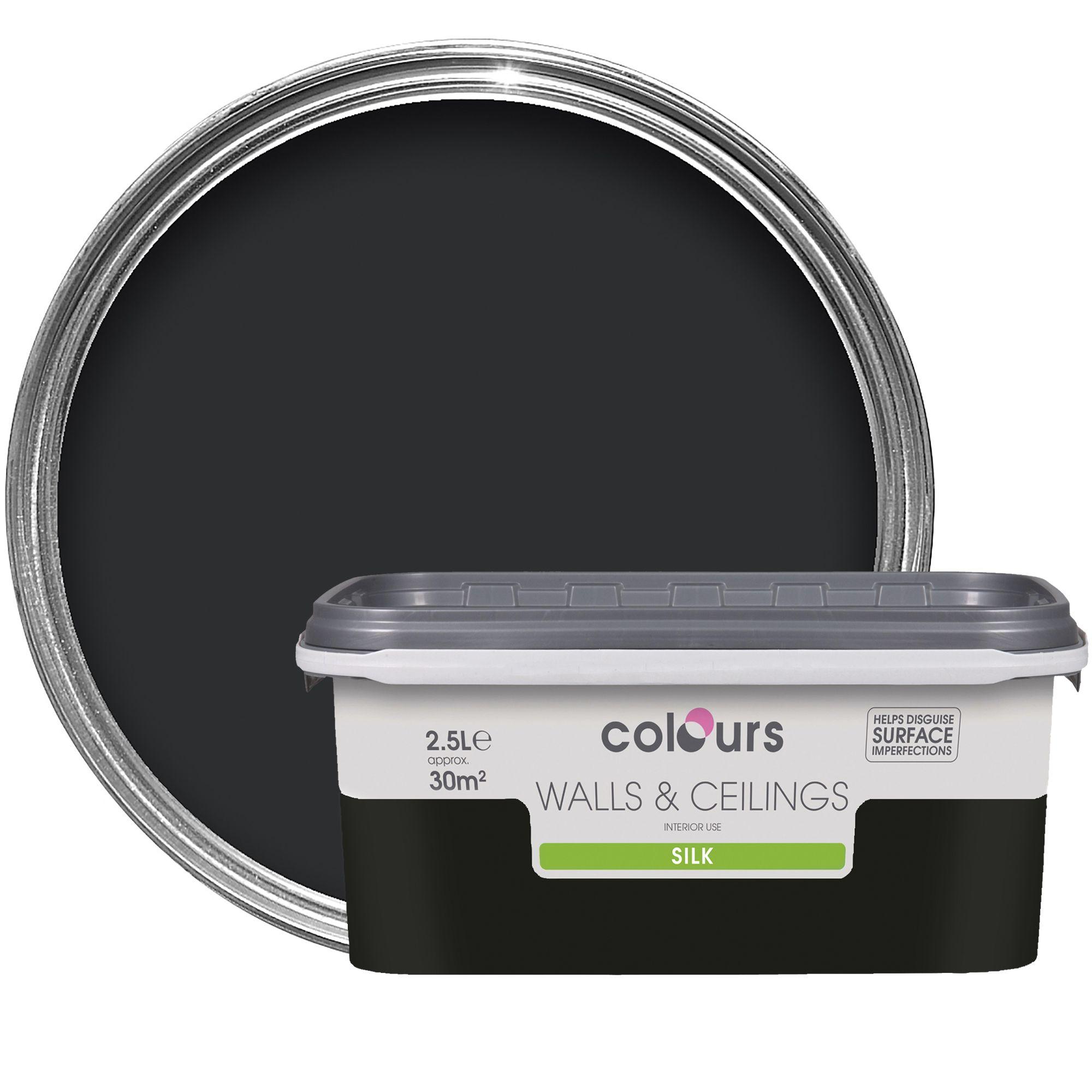 Black Silk Emulsion Paint