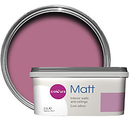 Colours Standard Princess Matt Emulsion paint 2.5 L