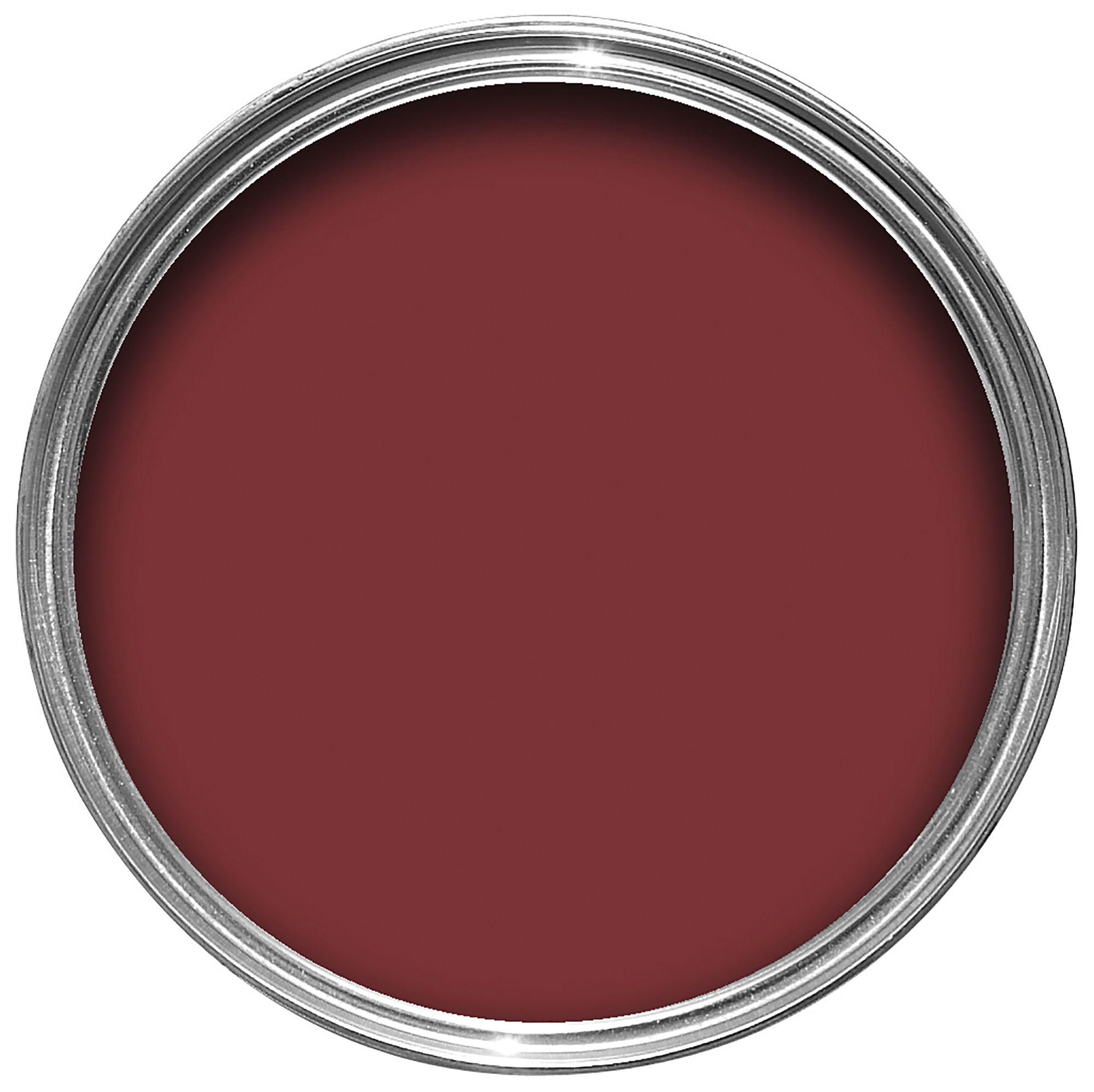 Colours Standard Clic Red Matt Emulsion Paint 2 5l Departments