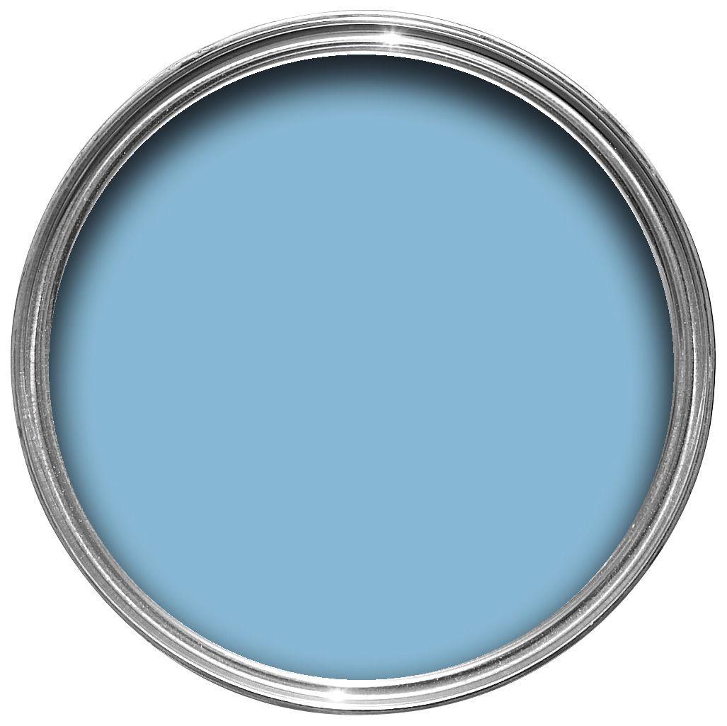 Colours Warm Blue Matt Emulsion Paint 2.5L | Departments ...