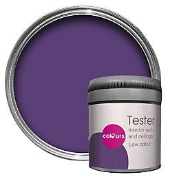 Colours Standard Violet Imperial Matt Emulsion Paint 0.05L