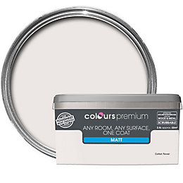 Colours Premium Cotton Flower Matt Emulsion Paint 2.5L