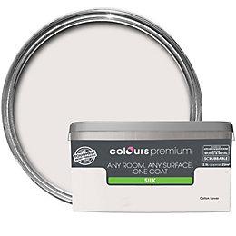 Colours Premium Cotton Flower Silk Emulsion Paint 2.5L