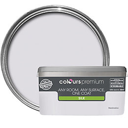 Colours Premium Marshmallow Silk Emulsion paint 2.5 L