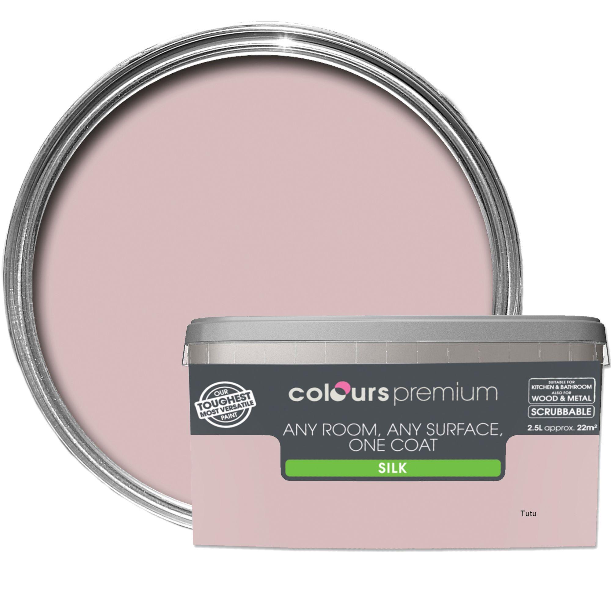 Pleasing Colours Premium Tutu Silk Emulsion Paint 2 5L Departments Diy At Bq Home Interior And Landscaping Spoatsignezvosmurscom
