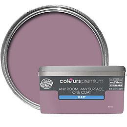 Colours Premium Berries Matt Emulsion Paint 2.5L
