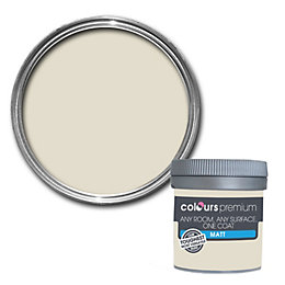 Colours Premium Nougat Emulsion paint 0.05 L Tester
