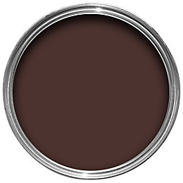 Colours Premium Dark chocolate Matt Emulsion paint 0.05