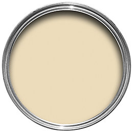 Colours Premium Custard cream Matt Emulsion paint 0.05