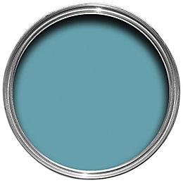Colours Premium Tropez blue Matt Emulsion paint 0.05