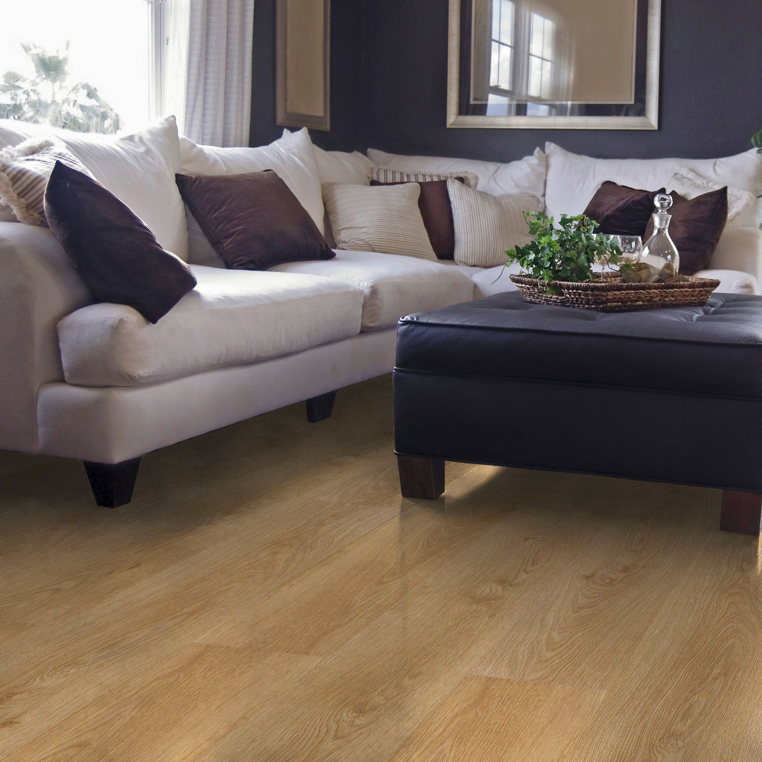 Overture Milano Oak Effect Laminate Flooring 1 25 M² Pack Departments Diy At B Q
