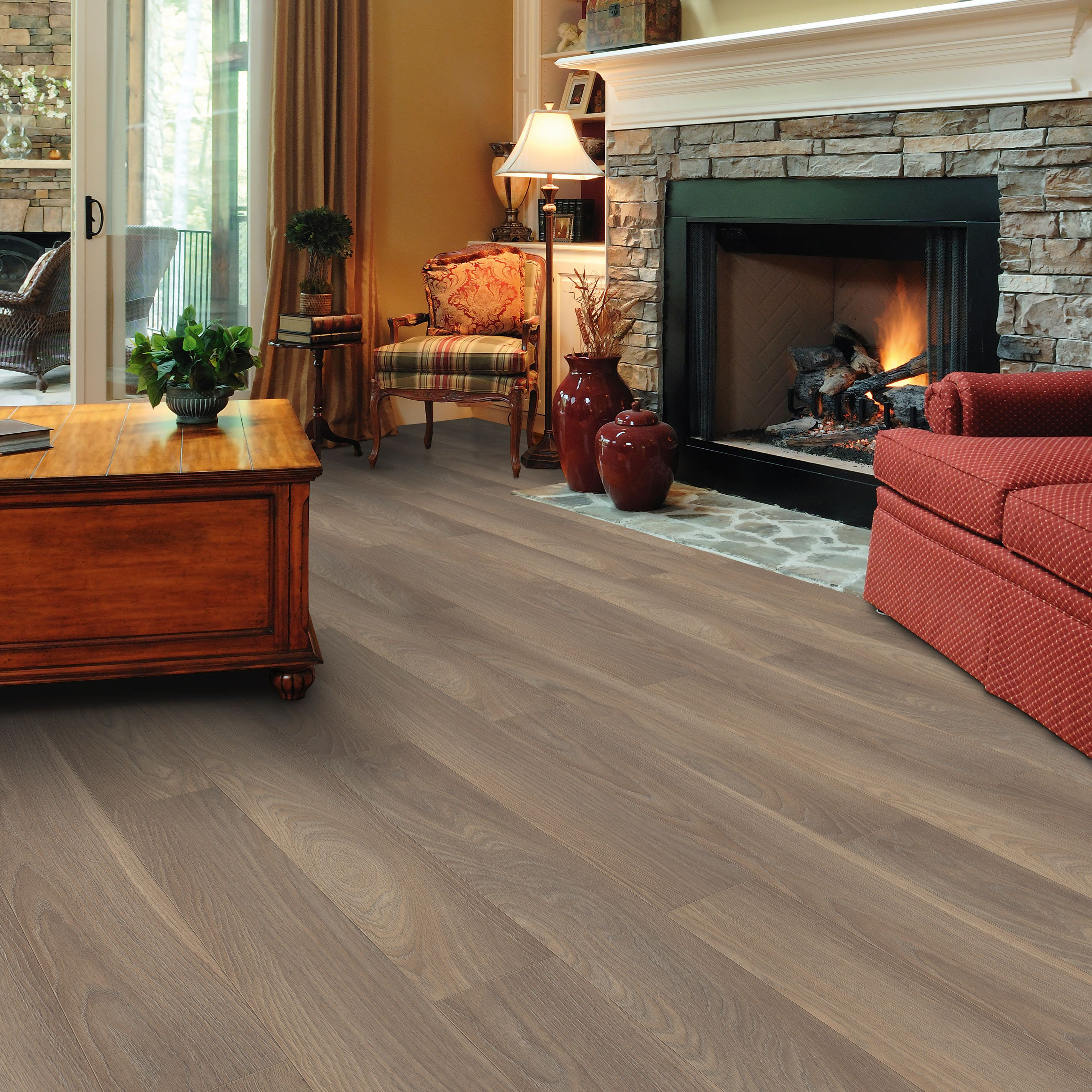 Belcanto Napoli Oak Effect Laminate Flooring 2 M² Pack