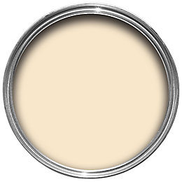 B&Q Cream Matt Emulsion paint 0.05L Tester pot