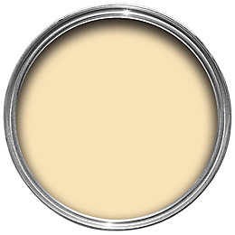 B&Q Lemon Matt Emulsion paint 0.05L Tester pot